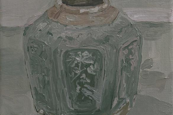 ginger jar, oil on linen, 2016, jacob de graaf
