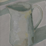 jug, oil on linen, 2016, jacob de graaf