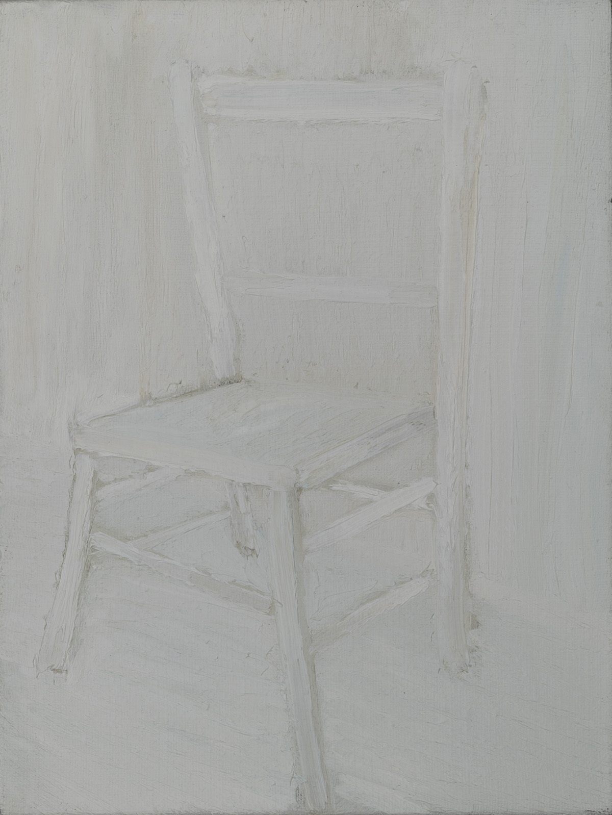 white chair no. 1, 2012